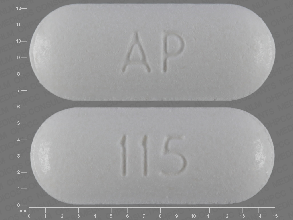 WHITE OVAL AP;115 12 HR hyoscyamine sulfate 0.375 MG Extended Release Oral Tablet