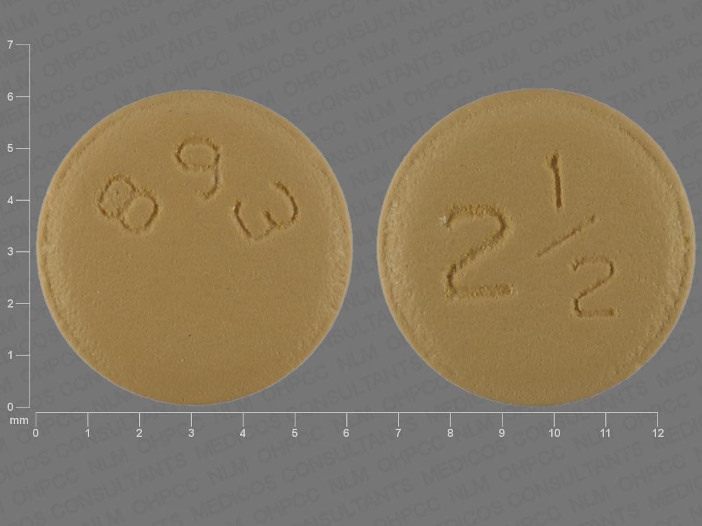 undefined undefined undefined apixaban 2.5 MG Oral Tablet [Eliquis]