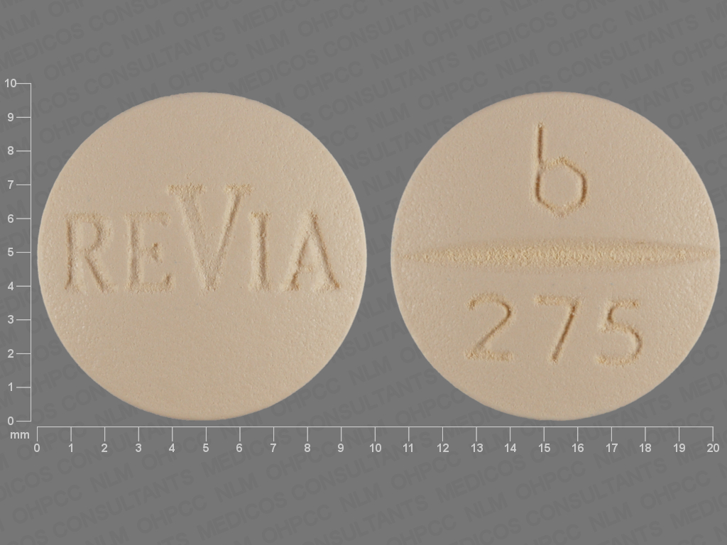 undefined undefined undefined naltrexone hydrochloride 50 MG Oral Tablet [ReVia]
