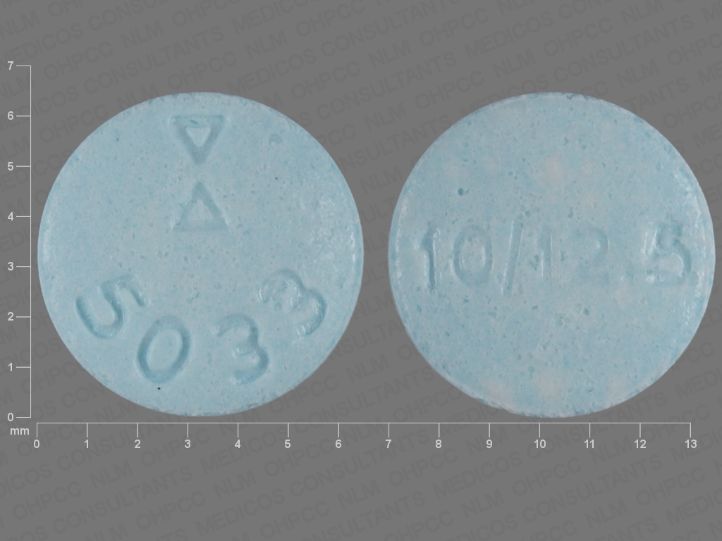 undefined undefined undefined hydrochlorothiazide 12.5 MG / lisinopril 10 MG Oral Tablet