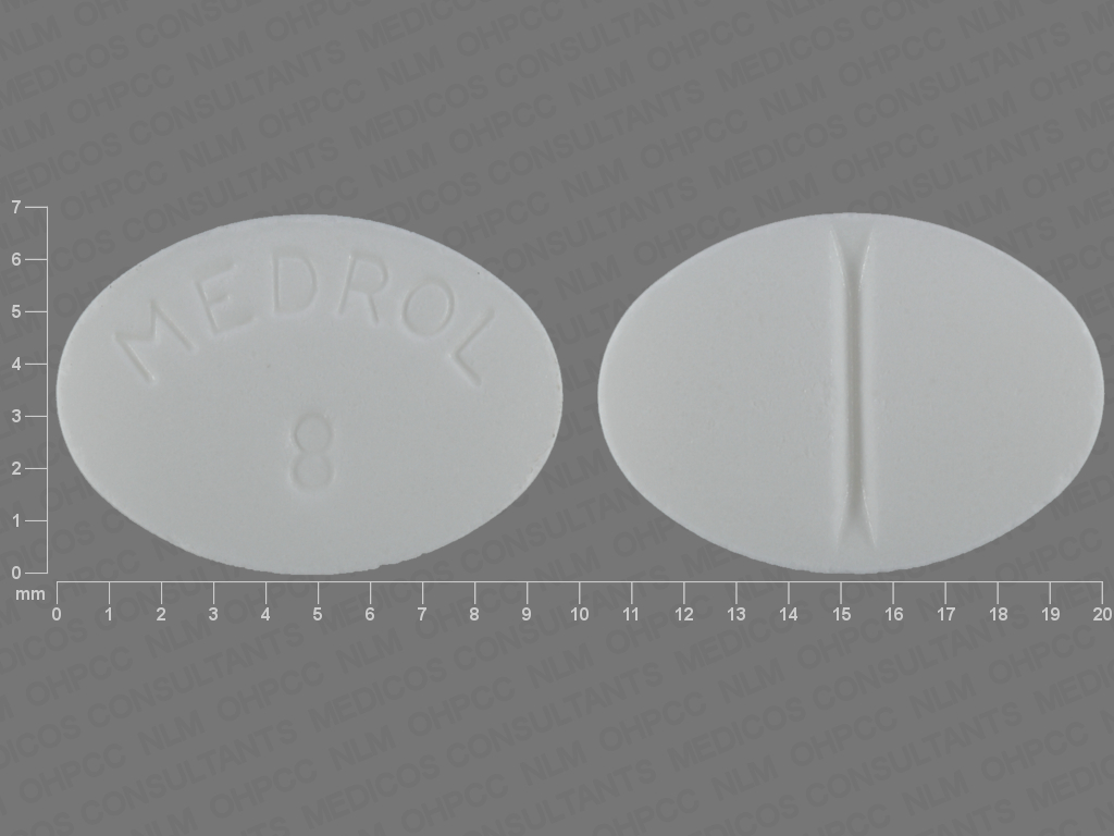 undefined undefined undefined methylprednisolone 8 MG Oral Tablet