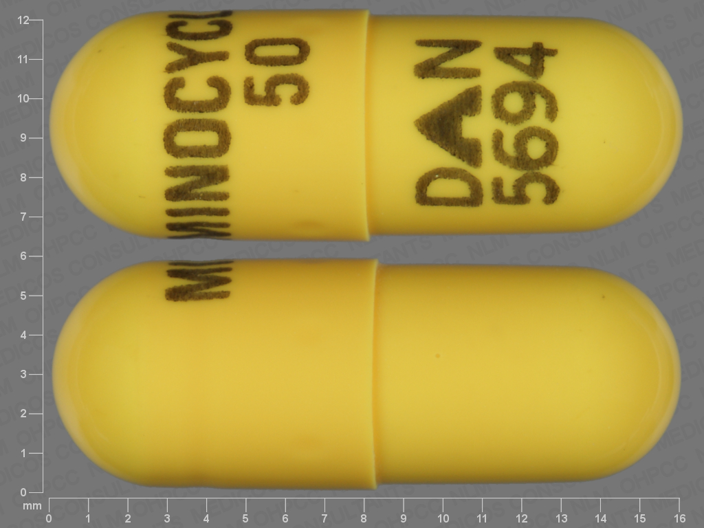 undefined undefined undefined minocycline 50 MG Oral Capsule