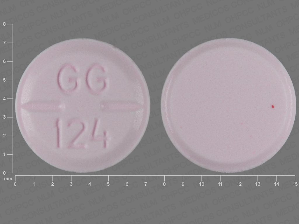 PINK ROUND GG;124 haloperidol 2 MG Oral Tablet