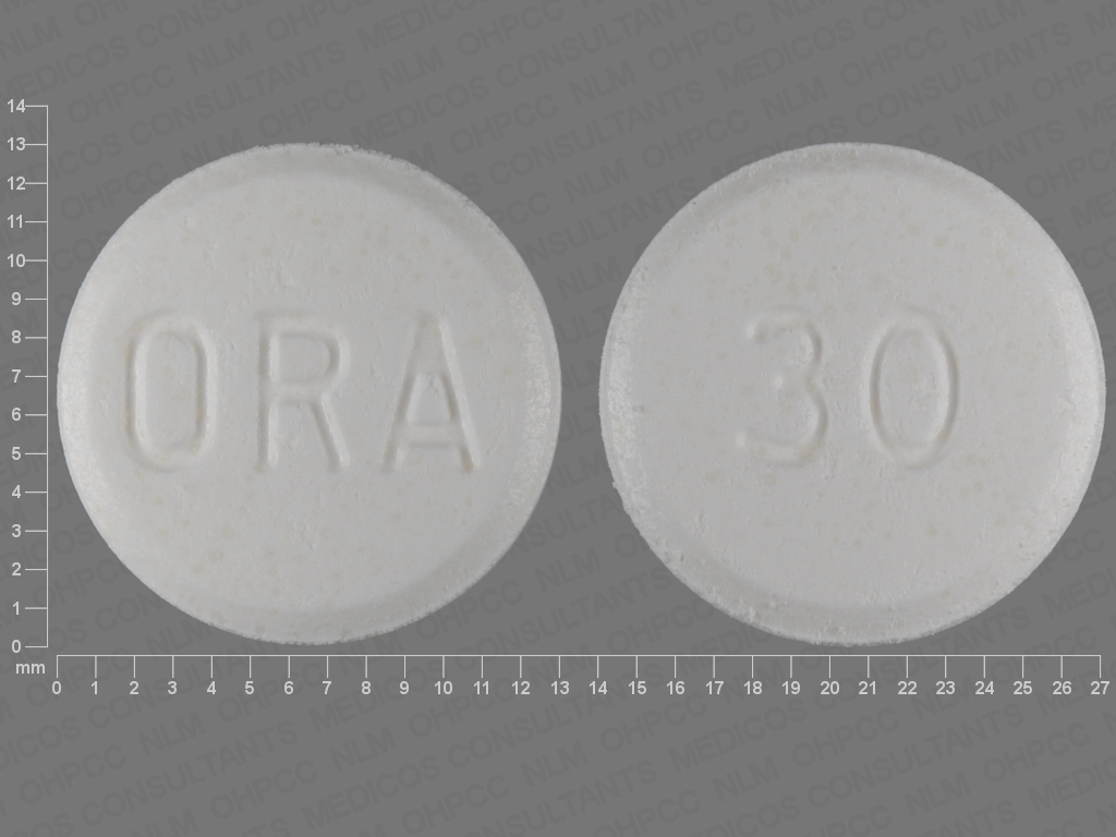 undefined undefined undefined prednisolone 30 MG Disintegrating Oral Tablet [Orapred]