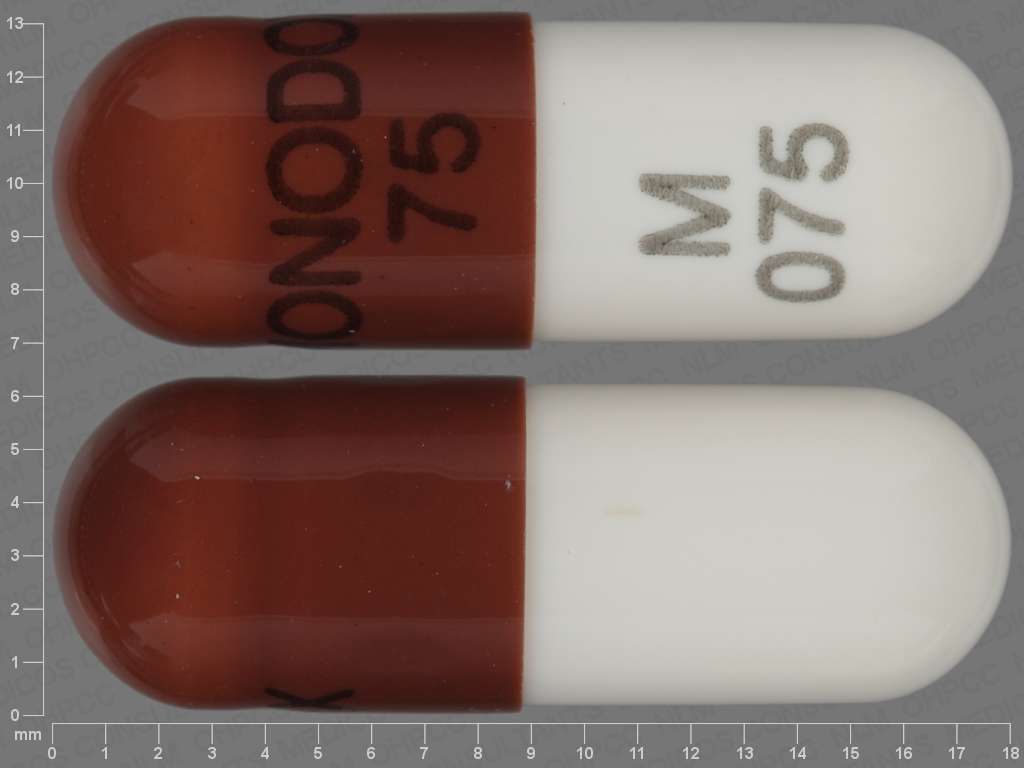 undefined undefined undefined doxycycline monohydrate 75 MG Oral Capsule [Monodox]