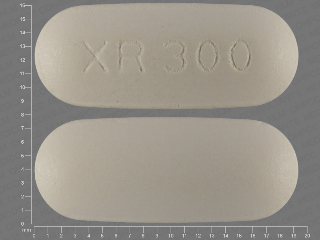 YELLOW OVAL XR;300 24 HR quetiapine 300 MG Extended Release Oral Tablet [Seroquel]