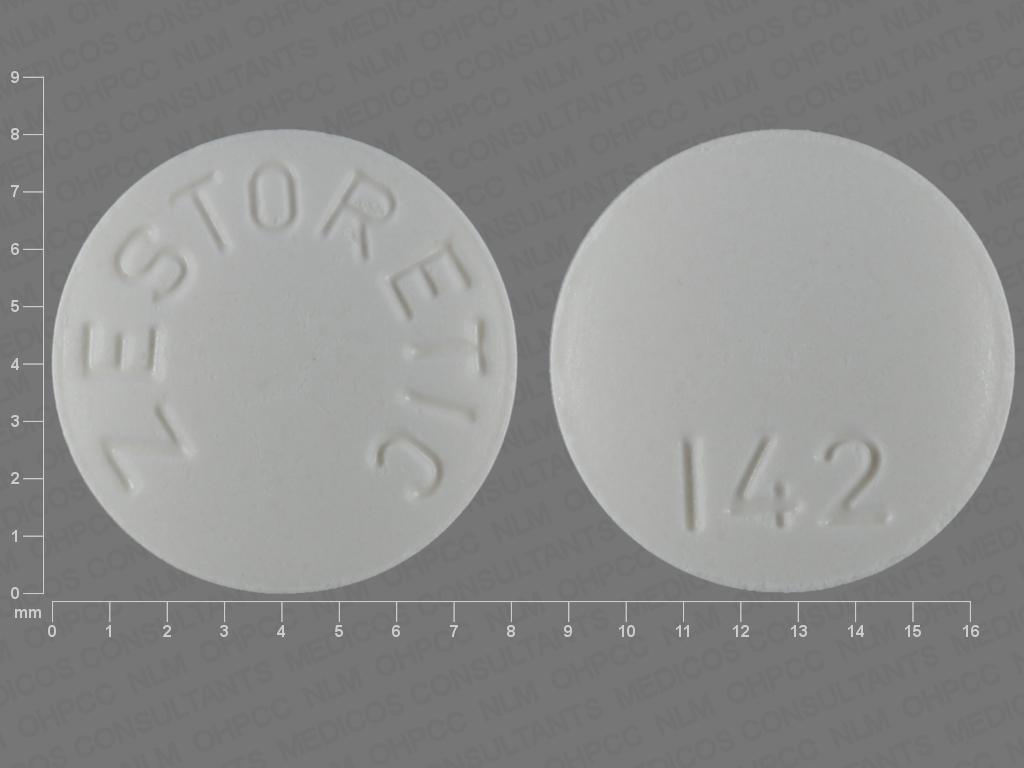 undefined undefined undefined hydrochlorothiazide 12.5 MG / lisinopril 20 MG Oral Tablet [Zestoretic]