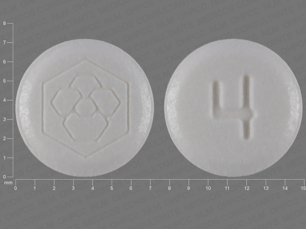 undefined undefined undefined iloperidone 4 MG Oral Tablet [Fanapt]