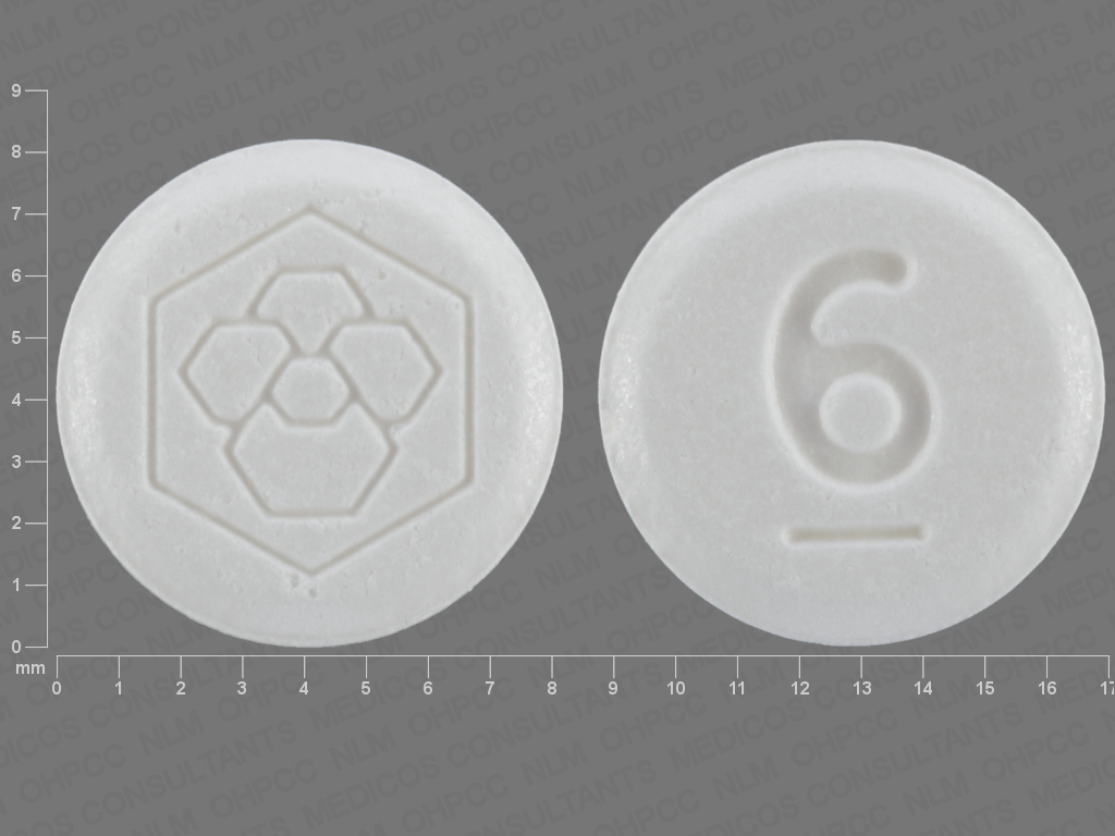 undefined undefined undefined iloperidone 6 MG Oral Tablet [Fanapt]