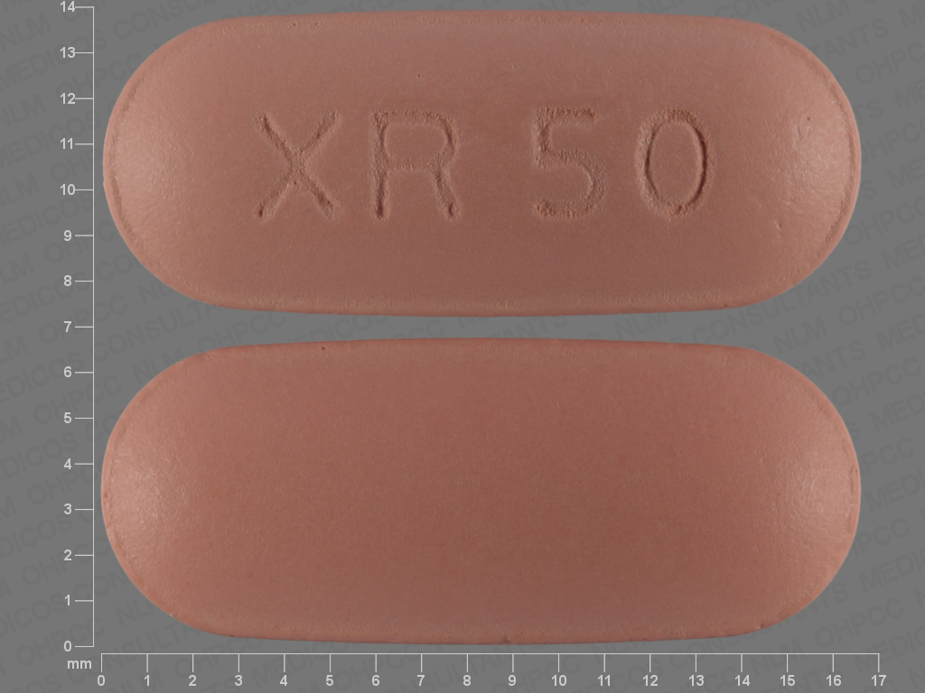 PINK OVAL XR;50 24 HR quetiapine 50 MG Extended Release Oral Tablet [Seroquel]